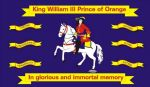 WILLIAM OF ORANGE - 5 X 3 FLAG